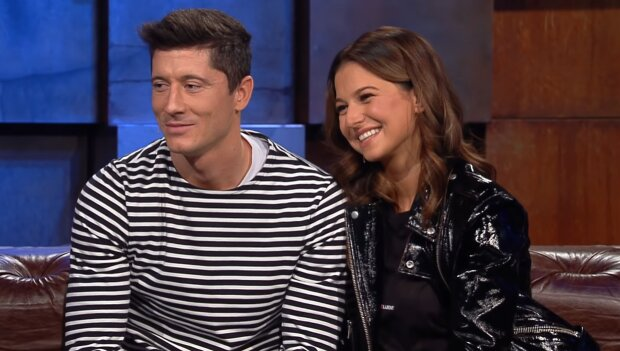 Robert i Anna Lewandowscy/ YouTube @TVN
