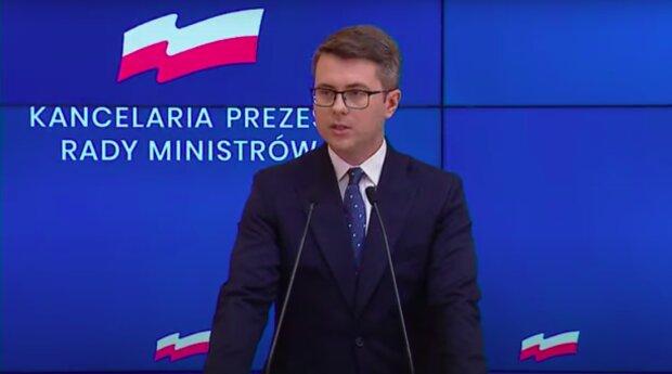 Rzecznik rządu Piotr Müller / YouTube:  Janusz Jaskółka