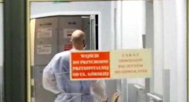 Strajk lekarzy/ YouTube @Wiadomości