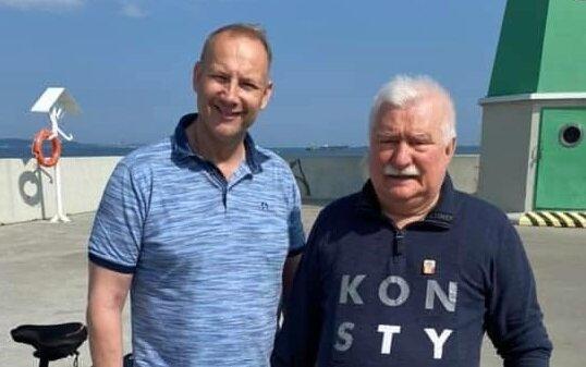 Autor: Lech Artur Wałęsa/Facebook Lech Artur Wałęsa i Lech Wałęsa