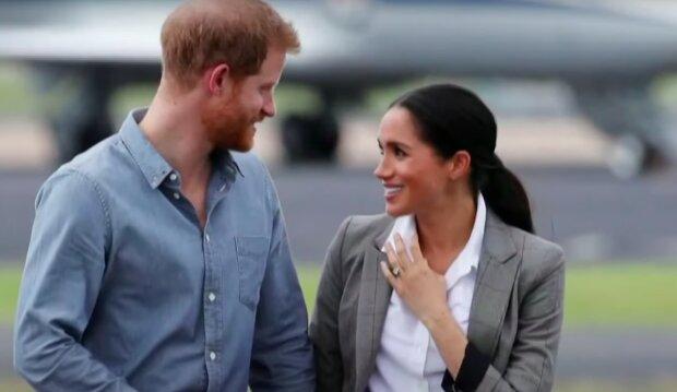 Meghan Markle i książęHarry / YouTube:   NBC News