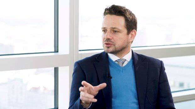 Rafał Trzaskowski. Źródło: Youtube Maciej Orłoś