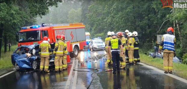 Wypadek w Jamnicy/Yt