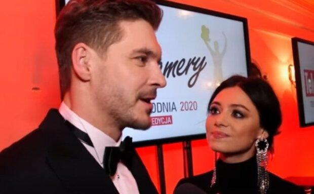 Mikołaj Roznerski, Adriana Kalska/screen Youtube @Magazyn Gala