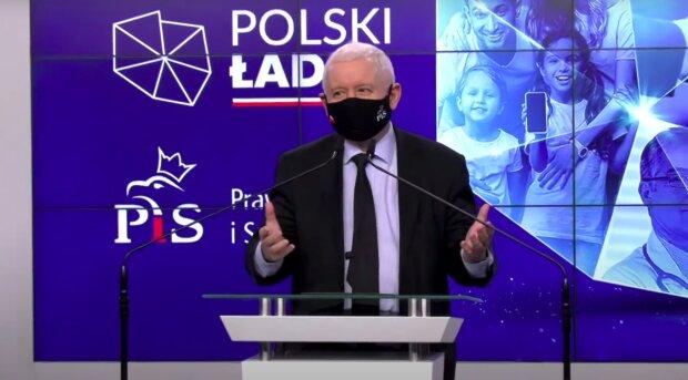 Jarosław Kaczyński / YouTube:  Onet News