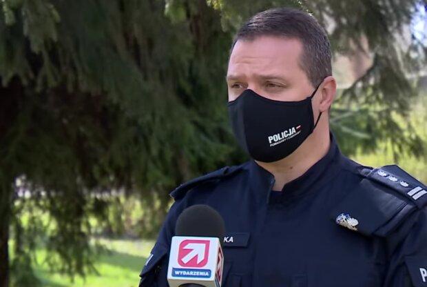 Policja / screen yt