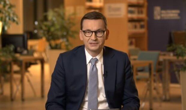 Premier Mateusz Morawiecki/YouTube @Janusz Jaskółka