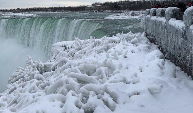 Niagara zimą/Youtube @Eric Lorenz Travel Review