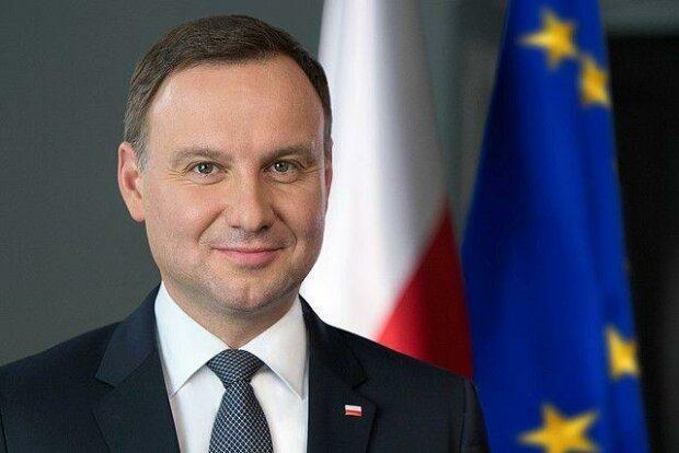 Andrzej Duda zaraził się koronawirusem, screen Google