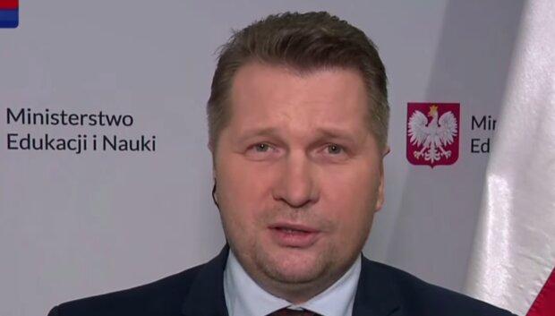 Przemysław Czarnek/ YouTube @TVP Info