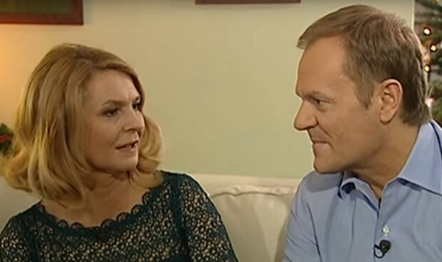 Małgorzata i Donald Tuskowie/Youtube @publicystykatvp