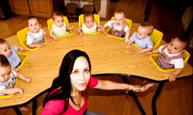 urodziła osiem dzieci, screen YT