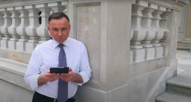 Andrzej Duda / YouTube:  W Pałacu Prezydenckim