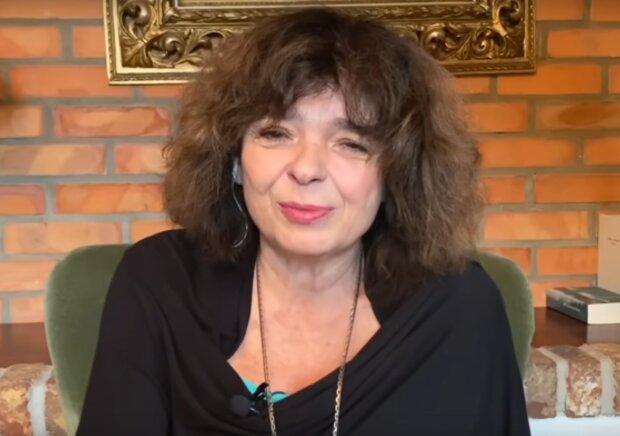 Katarzyna Grochola / YouTube: W MOIM STYLU Magda Mołek