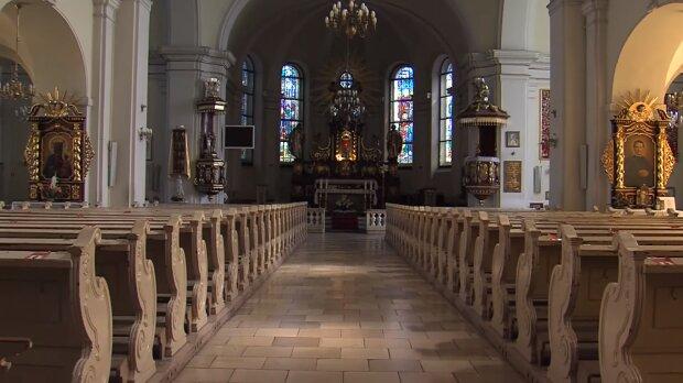 Kościół, koronawirus. Źródło: Youtube Telewizja Asta