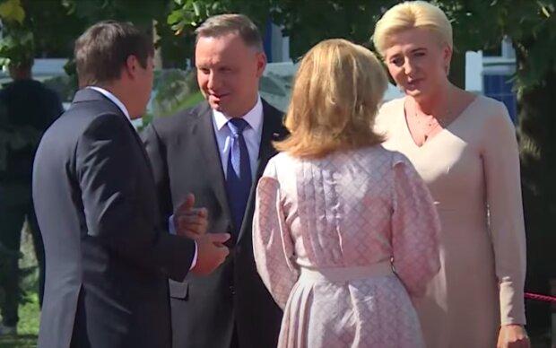 Para prezydencka z wizytąna Węgrzech / YouTube:  Prezydent.pl