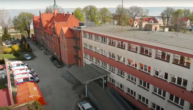 Szpital w Pucku / YouTube:  Bałtycka TV