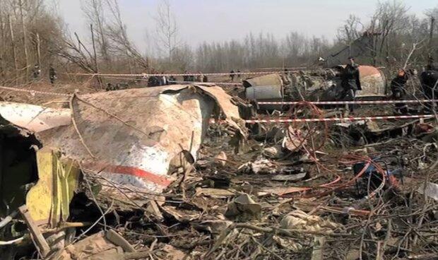 Wrak Tu-154M/YouTube @Gazeta.pl