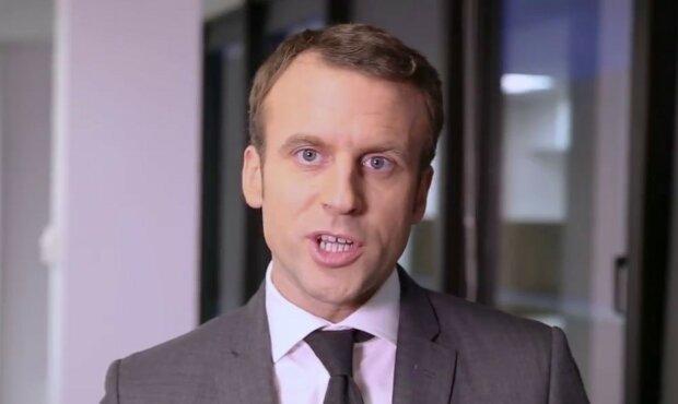 Emmanuel Macron/Youtube @Tristan Oliver