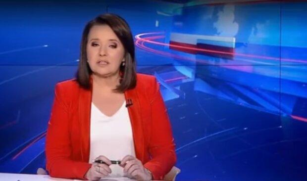 """Danuta Holecka """"Wiadomości""""/YouTube @Najnowsze Wiadomości 24H"""