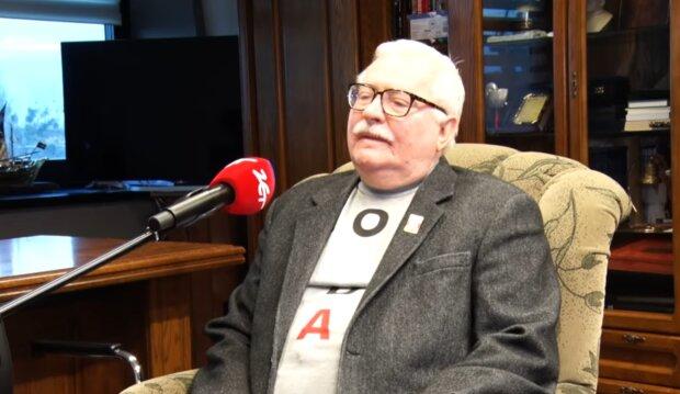Lech Wałęsa/YouTube @Radio Zet