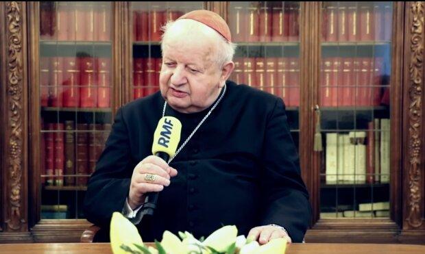 Kardynał Stanisław Dziwisz/YouTube @Rmf Fm