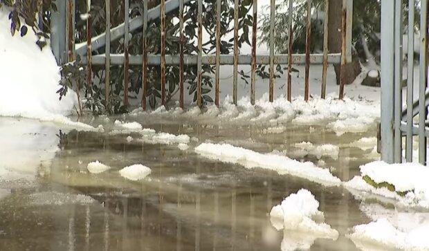 Roztopy groźba powodzi/ YouTube @Polsat News