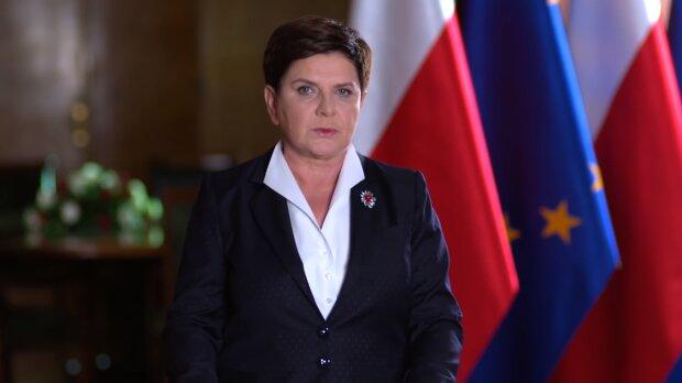 Beata Szydło. Źródło: Youtube Kancelaria Premiera