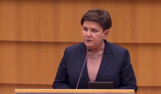 Beata Szydło/ YouTube @Janusz Jaskółka