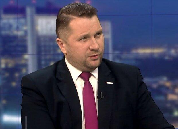 Przemysław Czarnek/screen Youtube @Telewizja Republika