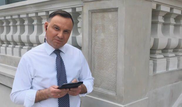 Andrzej Duda/ YouTube @W pałacu prezydenckim
