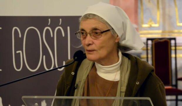 Siostra Małgorzata Chmielewska/ YouTube @Masakacjusz TV