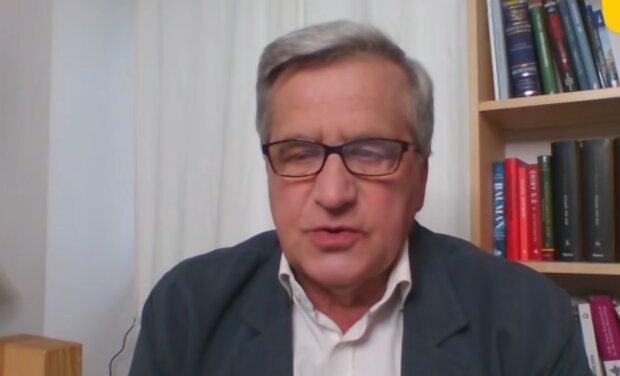 Bronisław Komorowski/ YouTube @Rmf Fm