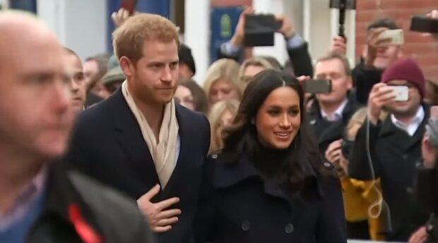 Meghan Markle, książę Harry. Źródło: Youtube Entertainment Tonight