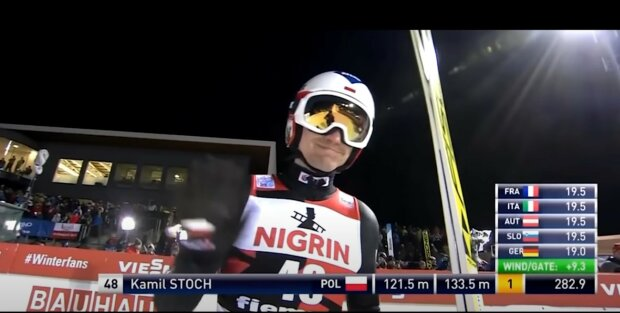 Kamil Stoch screen Youtube