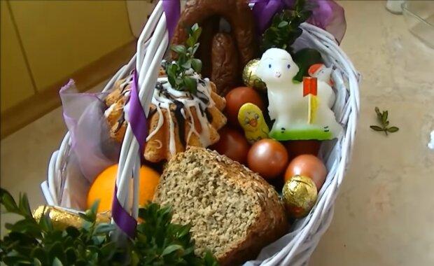 Wielkanocny koszyczek/ YouTube @KuchniaRenaty
