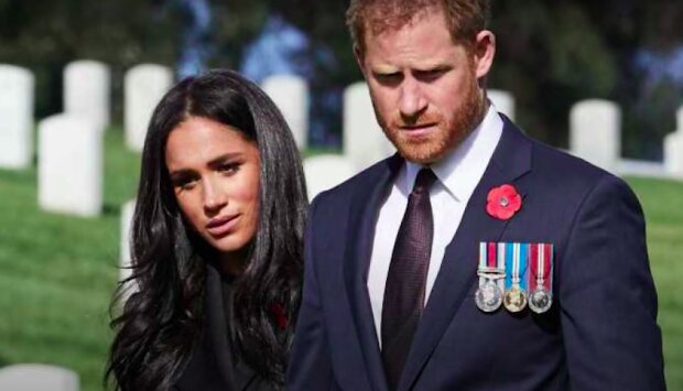 Meghan Markle i książęHarry / YouTube: Kate Middleton & The Queen