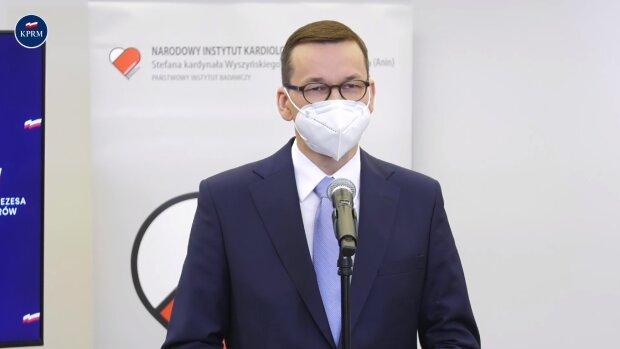 Mateusz Morawiecki. Źródło: Youtube Kancelaria Premiera