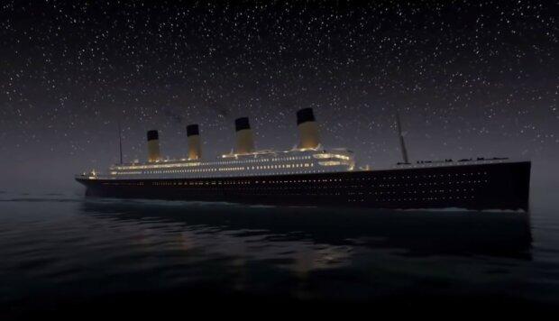 załoga Titanica, screen YT