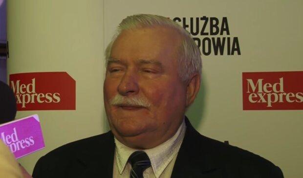 Lech Wałęsa/ YouTube @Medexpress TV