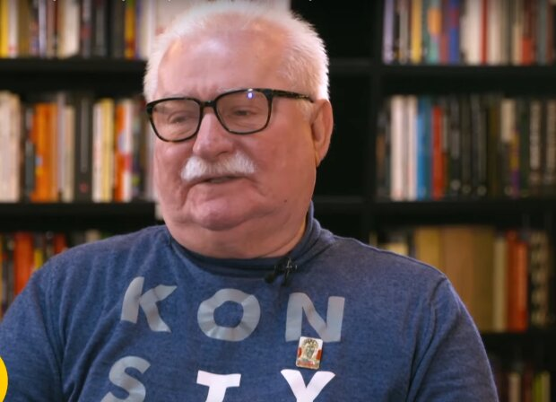 Lech Wałęsa / YouTube: tvnpl