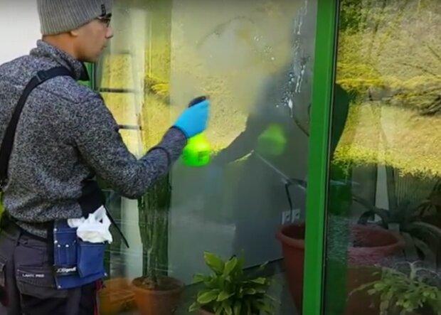 mycie okien / YouTube:  LUBUSKIE CENTRUM CZYSTOŚCI