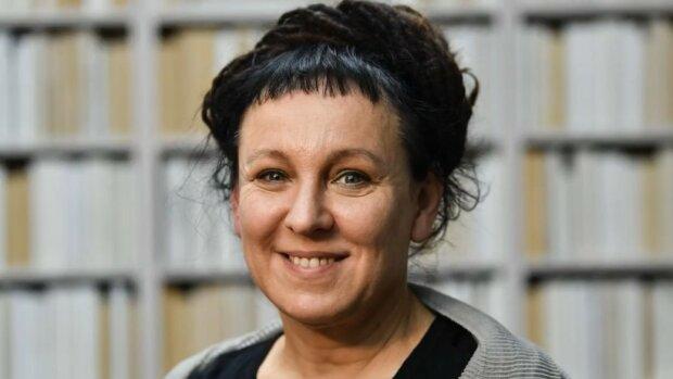 Olga Tokarczuk screen YouTube