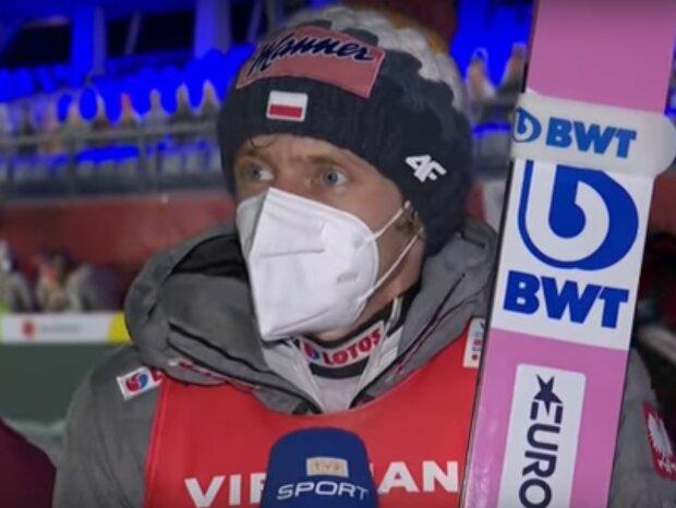 Dawid Kubacki / YouTube: TVP Sport