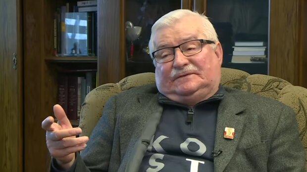 Lech Wałęsa/YouTube @Onet