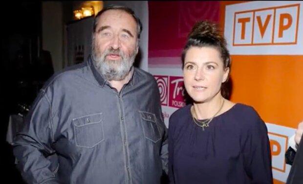 Agnieszka Suchora i Krzysztof Kowalewski / YouTube:  Wiadomości