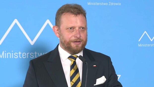 Były minister zdrowia, Łukasz Szumowski