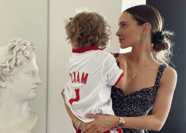 Marina Szczęsna z synkiem Liamem/Instagram