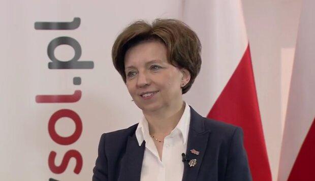 Marlena Maląg/ YouTube @Tysol pl