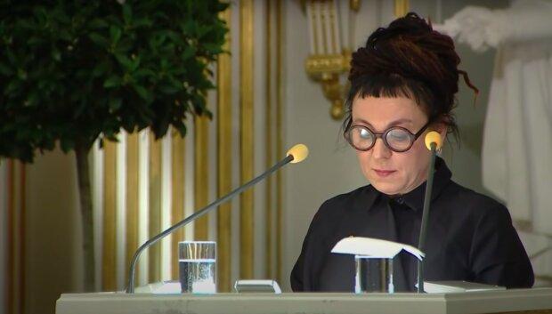 Olga Tokarczuk / YouTube: Nobel Prize